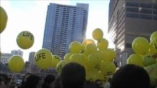 Pro-LIFE Flash Mob Strikes Again! ☩ PART ONE
