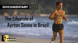 Documentary: AYRTON SENNA [The Lifestyle Of Ayrton Senna In Brazil, 1991] ║ SENNA Legend