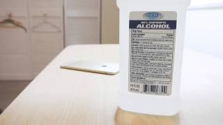 """How to Clean iPhone 6 Antenna """"Lines"""""""