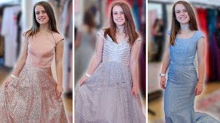 PROM DRESS SHOPPING 2019