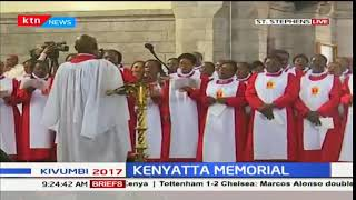 Memorial service of the founding father, the late Mzee Jomo Kenyatta