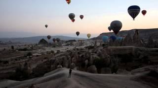 Каппадокия (Турция): полёт на воздушном шаре
