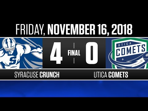 Crunch vs. Comets | Nov. 16, 2018