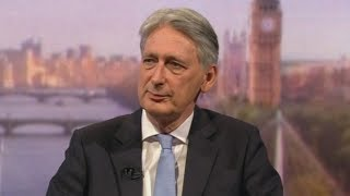 video: Philip Hammond confirms he will resign on Wednesday as he cannot accept Boris's no-deal