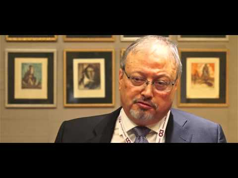 Jamal Khashoggi at CAF 2015 annual Forum - Interview