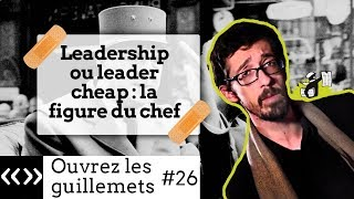 Usul. Leadership ou leader cheap: la figure du chef