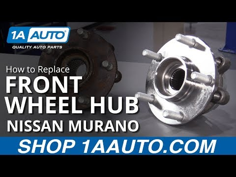 How to Replace Wheel Bearing & Hub Assembly 09-17 Nissan Murano