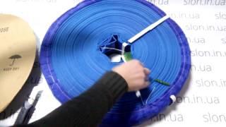 Фекальный дренажный ПВХ шланг Ø 50 мм  (50 м) от компании Slon. in. ua - видео 1
