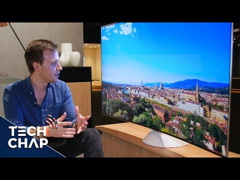 Samsung QLED TV First Look! - 4K HDR Quantum Dot! | The Tech Chap