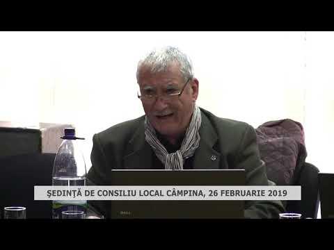 Şedinţă Consiliu Local Câmpina 26 02 2019