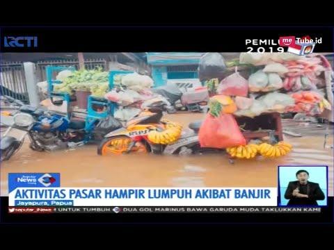 Banjir 1 Meter Rendam Pasar Abepura, Jayapura, Aktivitas Pedagang Nyaris Lumpuh - SIS 23/02