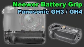 Neewer Battery Grip for Panasonic GH3 GH4 review DMW-BGGH3