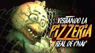 VISITANDO LA PIZZERÍA REAL DE FIVE NIGHTS AT FREDDY'S | Fright Dome Walk-thru FNAF