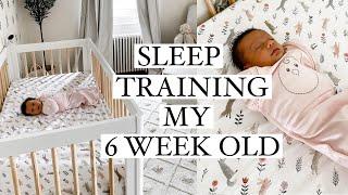 DITL: Sleep Training My 6 Week Old & Amazon Haul