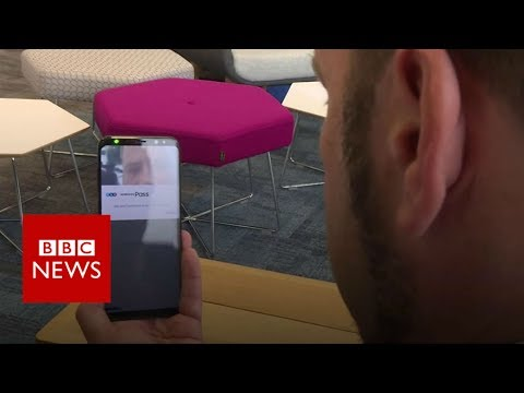 Would using an eye scanner make mobile banking secure? – BBC News
