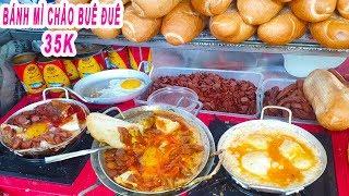 Bánh Mì Chảo Cô Lệ 45 năm | Có gì trong Bánh Mì Chảo Buê Đuê 35k trên vỉa hè Sài Gòn
