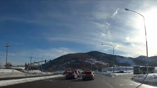 Salt Lake City Airport to Main Street in Park City in 2 minutes 15 seconds!