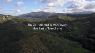 Anaheim Hills Drone Flight Spot