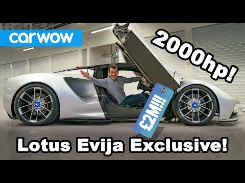 External Review Video nODsrmsuPb8 for Lotus Evija Electric Sports Car