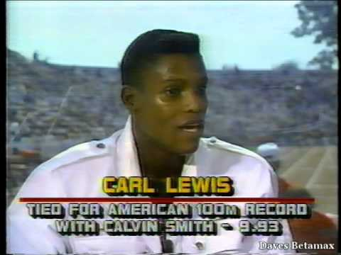 Carl Lewis 1988 Olympic Trials Interview with Frank Gifford