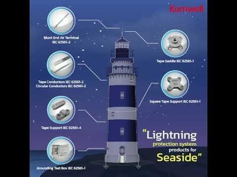 Giải pháp chống sét cho vùng ven biển - Lightning protection solution for seaside