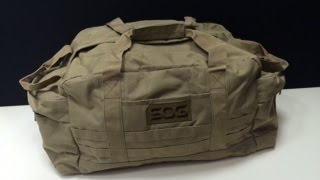 SOG Makes Bags Now?  SOG Mission Duffle Bag
