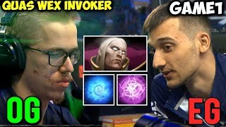 OG vs EG #TI8 | Classic Topson Quas Wex Invoker | THE INTERNATIONAL 2018