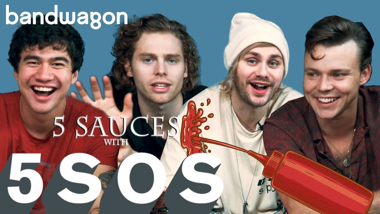 5 Seconds of Summer discuss Youngblood in 5 Sauces with 5SOS