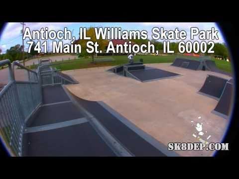 Antioch IL Skate Park 741 Main st., Antioch, IL