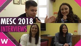 Malta ESC 2018: Eleanor Cassar, Petra and Tiziana Calleja (INTERVIEWS)