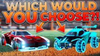 Who Has The Best Rocket League Car Design?! - Designer Duels #2