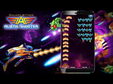 Galaxy Attack: Alien Shooter βίντεο