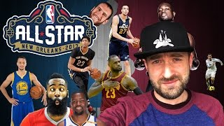 NBA ALL STAR GAME 2017 : MES VOTES