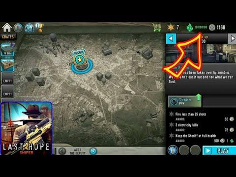 Last Hope Sniper - Zombie War mod (update 1 45 ) MOD APK - смотреть