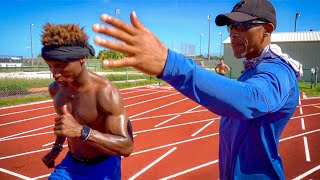 I HIRED A COACH TO HELP ME WIN LOGAN PAUL'S $100K RACE.. (CHALLENGER GAMES)