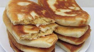 ЖАРЕНЫЕ ЛАПТИ - Тонкие ПИРОЖКИ с Горохом 👩🍳 Вкусное тесто для пирожков