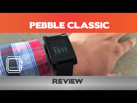 Pebble Classic Smartwatch Review - Not the smartest watch around