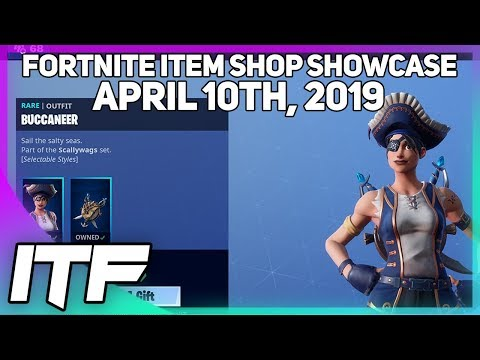 Fortnite Buccaneer And Sea Wolf In The Shop Of The April 10 2019