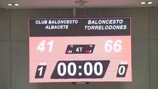 CB ALBACETE - BALONCESTO TORRELODONES