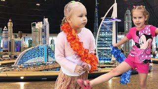 ВЛОГ Лучший отель Lapita где мы были Алина Юляшка и Алиса идут в Леголенд Дубаи Legoland Dubai VLOG