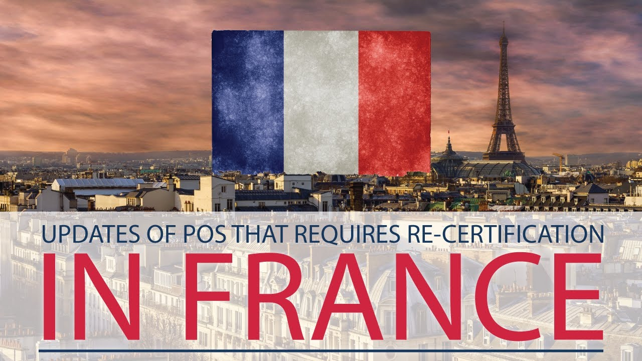 If you want to update your POS software in France this is what you have to do