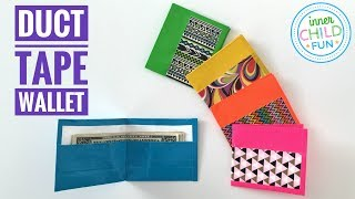 How To Make A Duct Tape Wallet EASY
