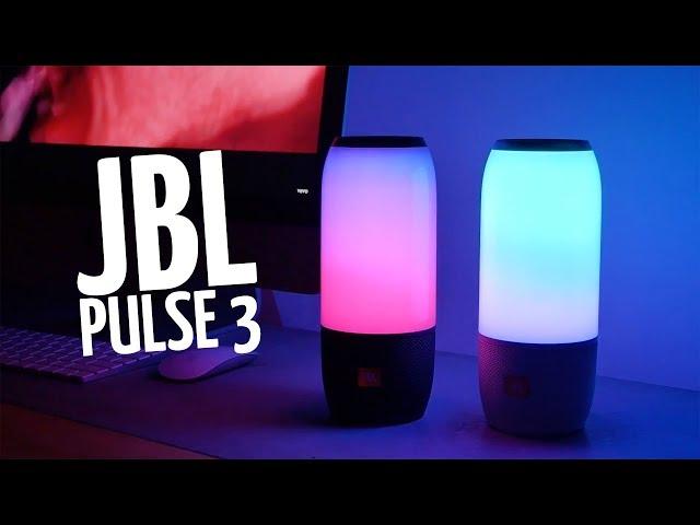 Видео JBL Pulse 3