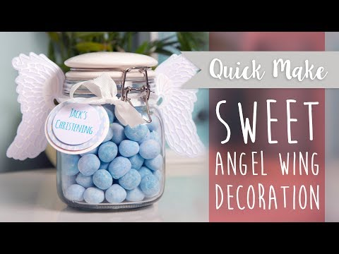 Create Your Own Angel Wings Jar - Sizzix