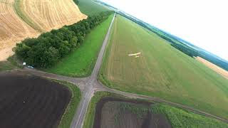 RC Plane chasing on FPV quad. Cinematic compilations