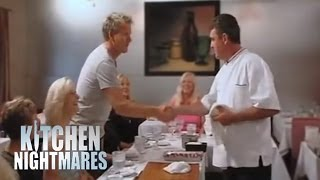 Gordon's Surprise Appearance Upsets Chef - Kitchen Nightmares