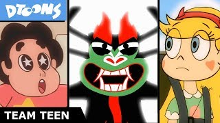 "Aku Takes Over The Multiverse! | ""Last Time on Team Teen"" Cartoon Crossover"