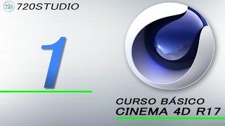Curso Básico Cinema 4D R17 Parte 1 - Tutorial para Principiantes - En Español
