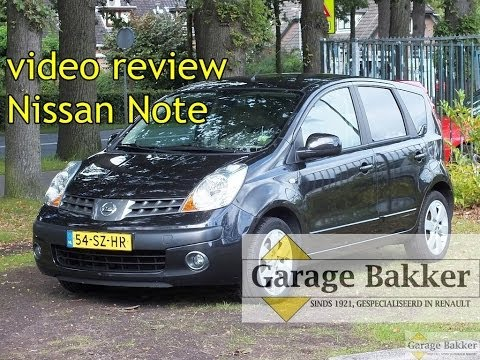 Video Review Nissan Note 1.6 Automaat First Note, 2006, 54-SZ-HR Mp3