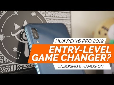 HUAWEI Y6 PRO 2019 - Unboxing and Hands-On Review